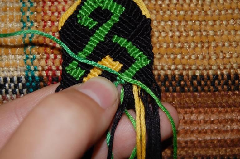 Что делать если закончилась нитка при вышивке