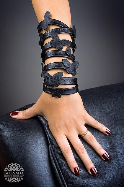 Аксессуары из натуральной кожи своими руками